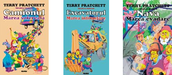 Trilogia nomilor, de Terry Pratchett